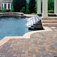 Holland stone pavers columbia springdale sc for Landscaping rocks columbia sc